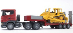 200-03555 Scania LKW Tieflader mit CATER