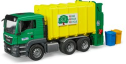 200-03764 MAN TGS Müll-LKW Hecklader grü