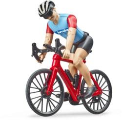 200-63110 Rennrad mit Radfahrer Bruder b