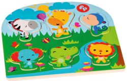 221-41223 Fisher-Price Holz-Puzzle ab 12