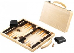 221-61821 Backgammonkoffer aus Holz Happ