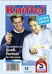 223-49070 Großer Kniffelblock Schmidt Sp