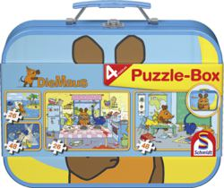 223-55597 Die Maus,  Puzzle-Box Schmidt
