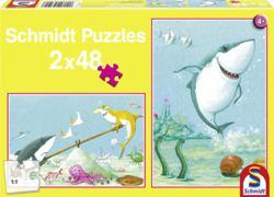 223-56101 Kleiner Weißer Hai - Puzzle Sc