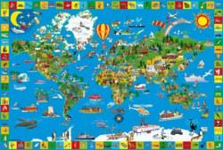 223-56118 Deine bunte Erde - Puzzle Schm