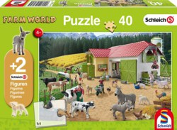 223-56189 Farm World Puzzle - Ein Tag au