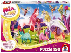 223-56247 Mia and Me Glitzerpuzzle, Anku
