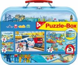 223-56508 Puzzle-Box - Verkehrsmittel Sc