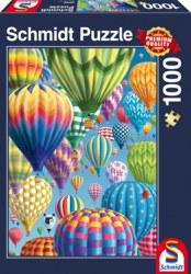 223-58286 Puzzle - Bunte Ballone im Himm