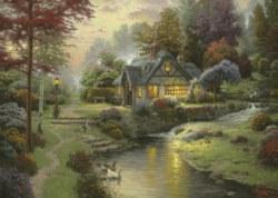 223-58464 Thomas Kinkade Friedliche Aben