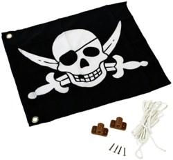 231-507012010001 Flagge mit Hebezug-System: Pir