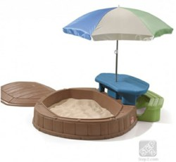 231-843700 Spielinsel Sandkasten mit Pick