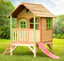 231-A03003600 Spielhaus Tom  AXI, 100% FSC,