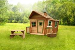 231-A03010700 Spielhaus Lisa  AXI, 100% FSC,
