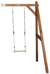 231-A03014500 Holz Einzelschaukel braun Wand