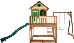 231-A03015200 Holz Spielhaus Liam mit Einzel