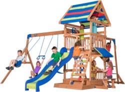 231-B1808034 Holz Spielplatz Beachfront aus