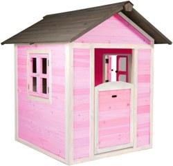 231-C05000102 Spielhaus Lodge Pink/Weiß Sunn