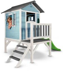 231-C05000201 Spielhaus Lodge XL Blau/Weiß