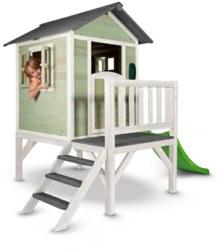 231-C05000203 Spielhaus Lodge XL Gelb/Weiß