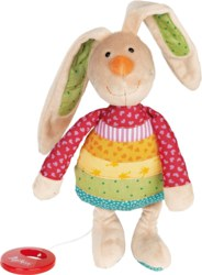 233-40577 Spieluhr Rainbow Rabbit Sigiki