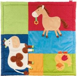 233-41550 Baby Spieldecke Bauernhof Tier