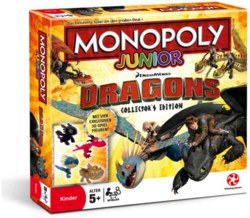 234-45120 Monopoly - Junior Dragons Coll