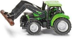 235-1380 Traktor mit Baumstammgreifer S