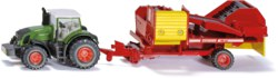235-1808 Traktor mit Kartoffelroder