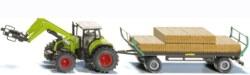235-1946 Traktor mit Quaderballen Siku