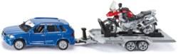 235-2547 PKW mit Anhänger und Motorrad