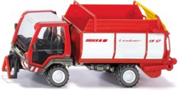 235-3061 Lindner Unitrac mit Ladewagen