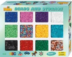 250-2095 Bügelperlen Sortierbox mit 960