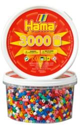 Basteln & Kreativität Hama 1000 Perlen schwarz 207-18
