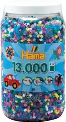 250-21169 Dose mit 13000 Perlen Mix 69 B