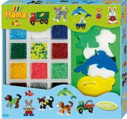 250-3064 Super Geschenkset Hama Bügelpe