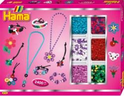 250-3713 Kreativbox Pink Basteln Hama B