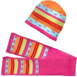 255-2511 Mütze und Schal multicolour Gr