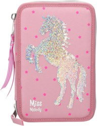 262-10004 Miss Melody 3-fach Federtasche