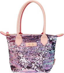 262-10210 Trend LOVE Handtasche Paillett