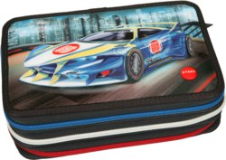262-10246 Monster Cars 3-fach Federtasch