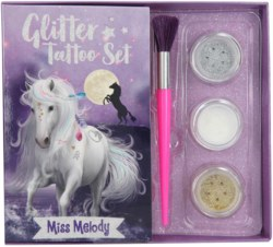 262-10420 Miss Melody Glitzer Tattoo Set