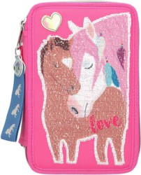 262-10529 Miss Melody 3-fach Federtasche