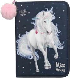 262-10591 Miss Melody XXL Federtasche Bl