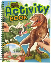 262-10742 Dino World Activity Book Depes