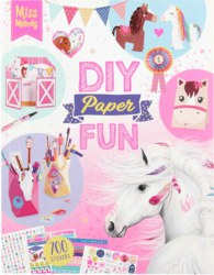 262-10869 Miss Melody DIY Paper Fun Book