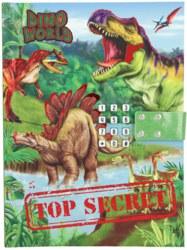 262-10972 Dino World Geheimcode Tagebuch
