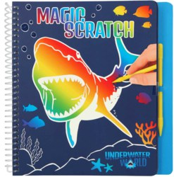 262-11079 Dino World Magic Scratch Book