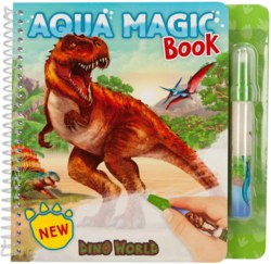 262-11080 Dino World Aqua Magic Book Dep