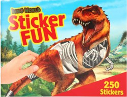 262-3359 Dino World Sticker Fun Depesch